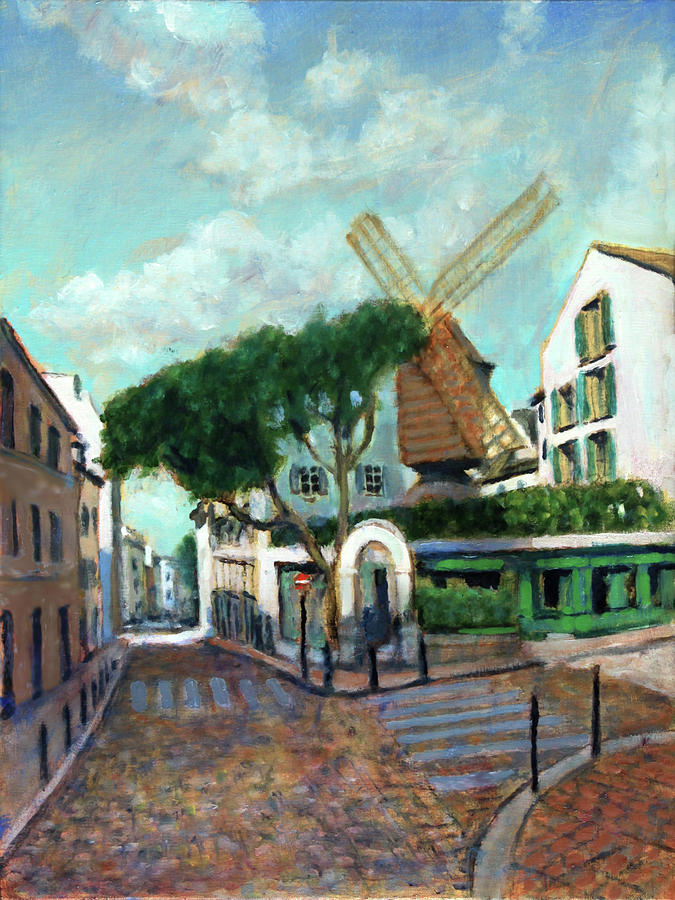 Moulin De La Galette by David Zimmerman