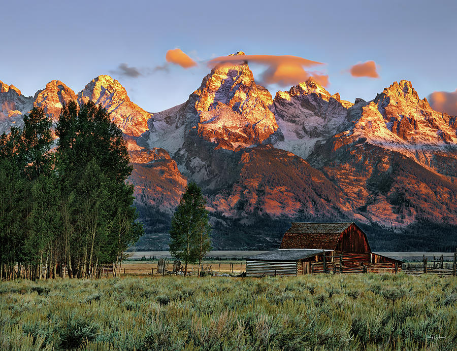 Wyoming Photograph - Moulton Barn 2 by Leland D Howard