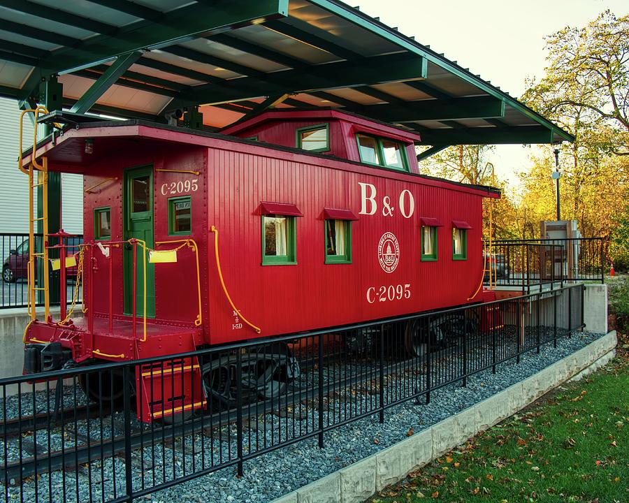 Mount Airy B and O Caboose by Mark Dodd