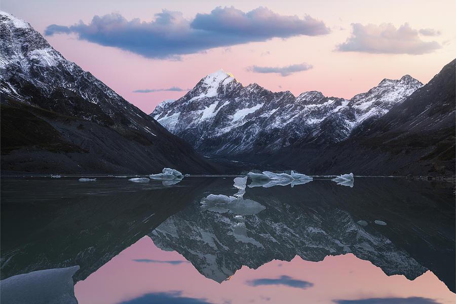 Mount Cook Sunrise Photograph
