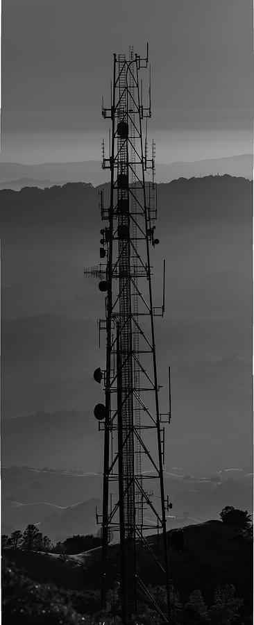 Mount Diablo Radio Tower by Mike Gifford