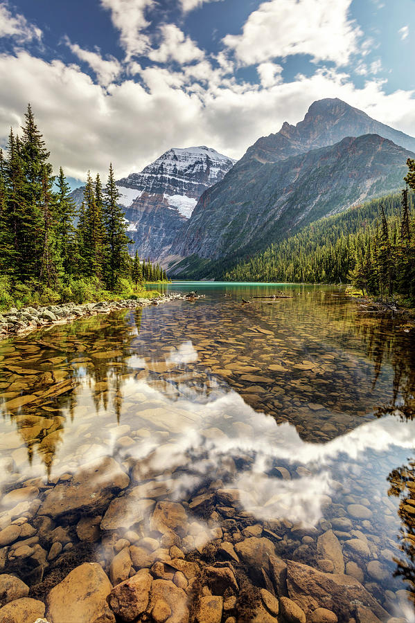 Mount Edith Cavell Reflection by Pierre Leclerc Photography