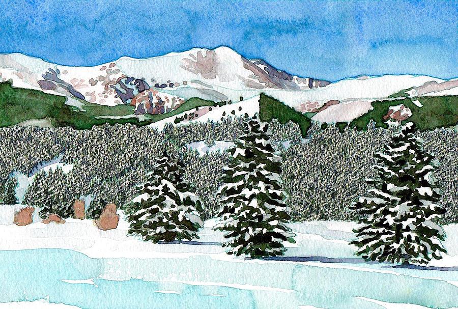 Mount Evans Snowscape by Dan Miller