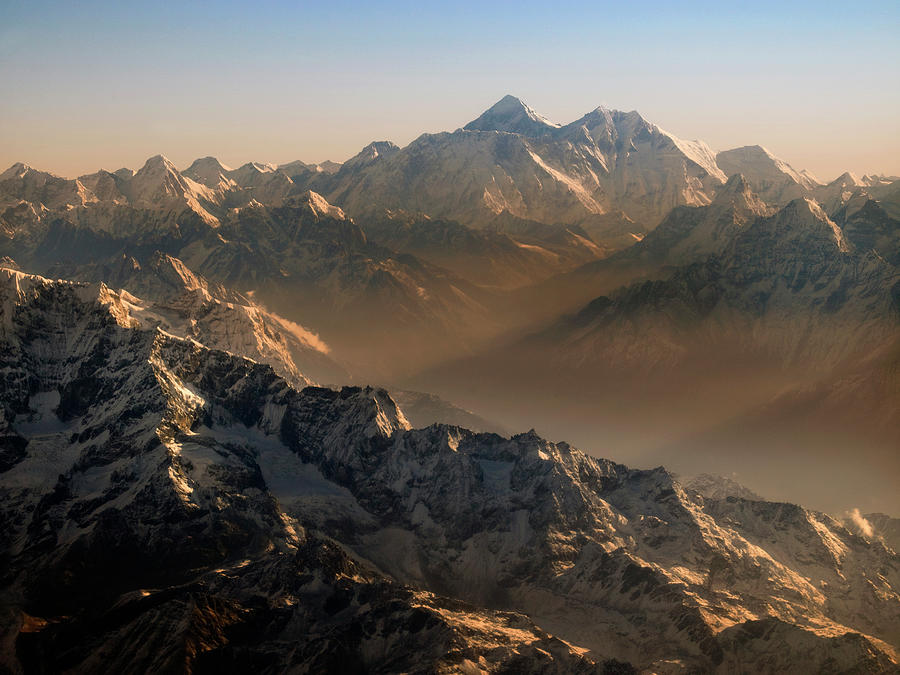 Mount Everest, Himalaya Mountains, Asia Photograph by Steve Allen