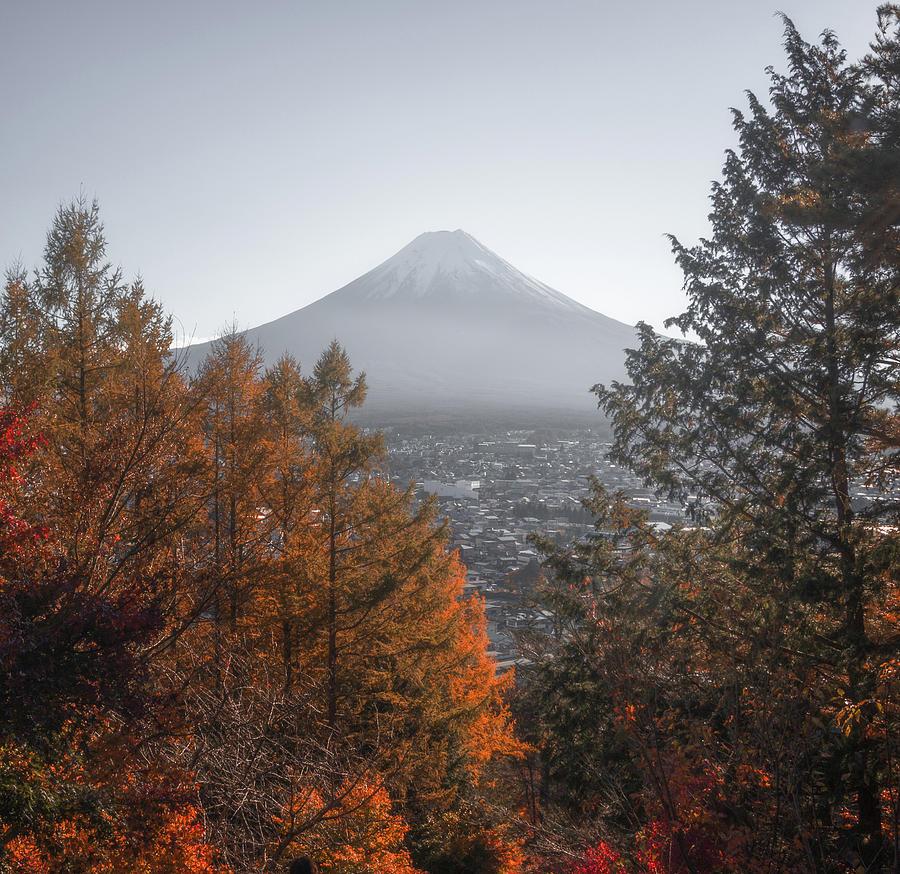 Mount Fuji Autumn I by Francis Ansing