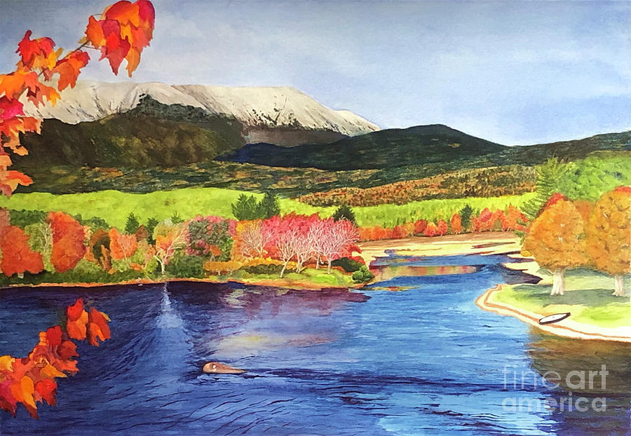 Mount Katahdin by Bonnie Young