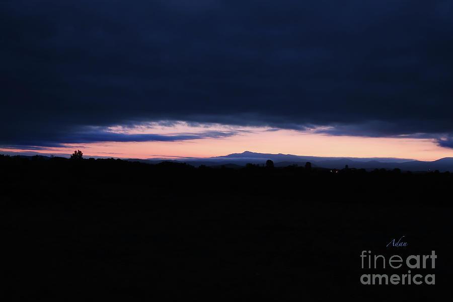Mount Mansfield Photograph - Mount Mansfield September Sunrise One by Felipe Adan Lerma