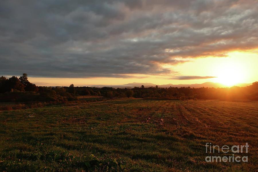 Mount Mansfield Photograph - Mount Mansfield September Sunrise Seven by Felipe Adan Lerma