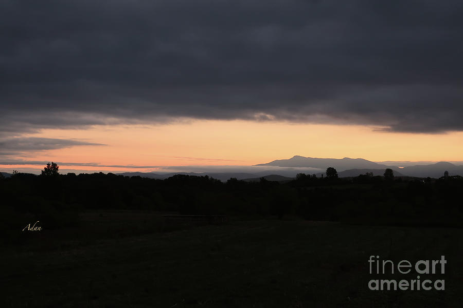 Mount Mansfield Photograph - Mount Mansfield September Sunrise Three by Felipe Adan Lerma