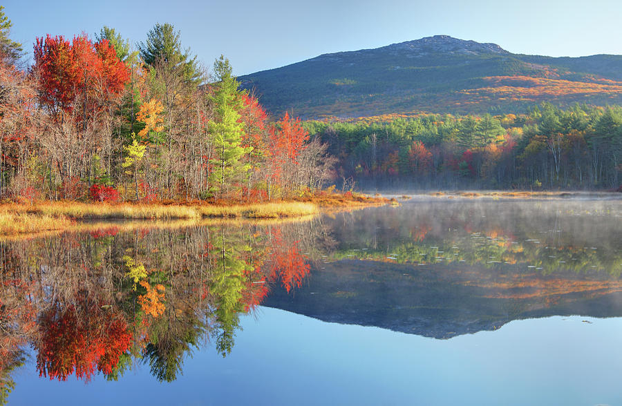 Mount Monadnock In Autumn Photograph by Denistangneyjr