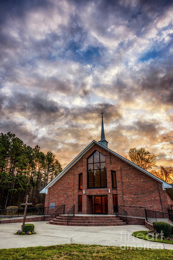 Mount Moriah Baptist Church by Thomas R Fletcher