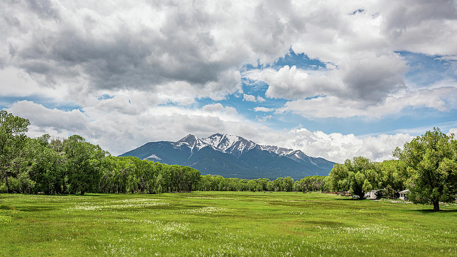 Mount Princeton in the Collegiate Peaks by Brenda Jacobs