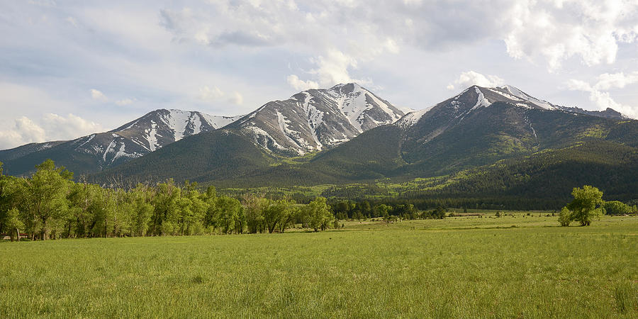 Four Seasons Photograph - Mount Princeton - Spring by Aaron Spong