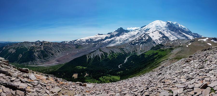 Mount Rainier from Burroughs Mountain by Pelo Blanco Photo