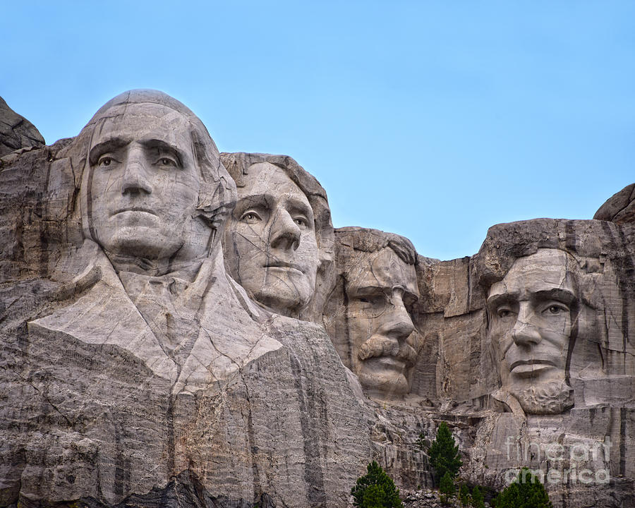 Mount Rushmore by Catherine Sherman