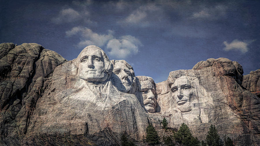 Mount Rushmore I by Tom Mc Nemar