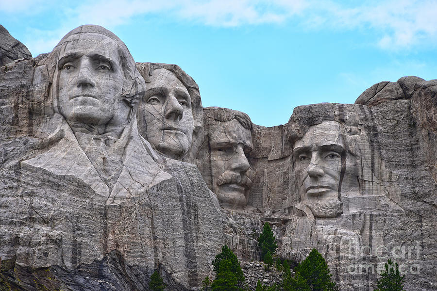 Mount Rushmore, South Dakota by Catherine Sherman