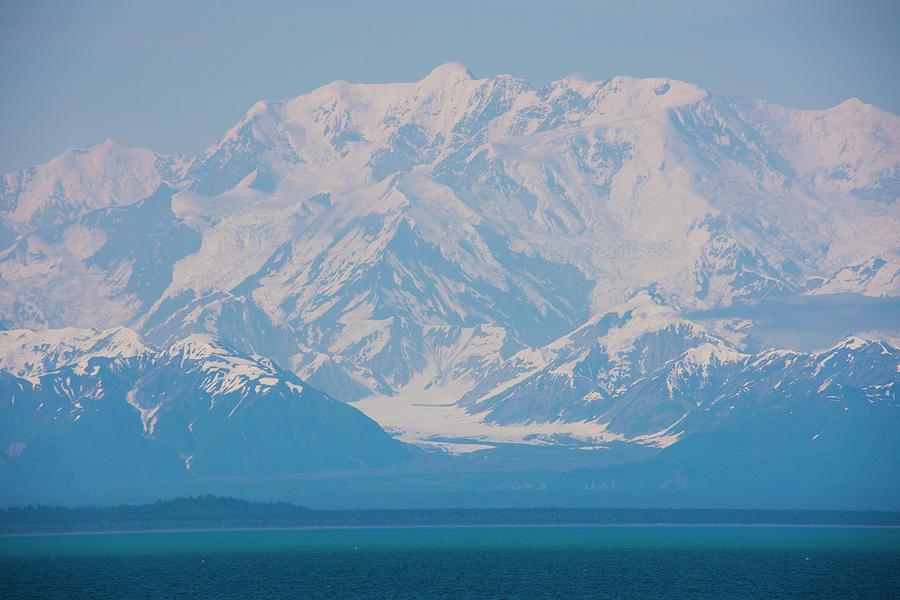 Mount Saint Elias Alaska by Yulia Kazansky