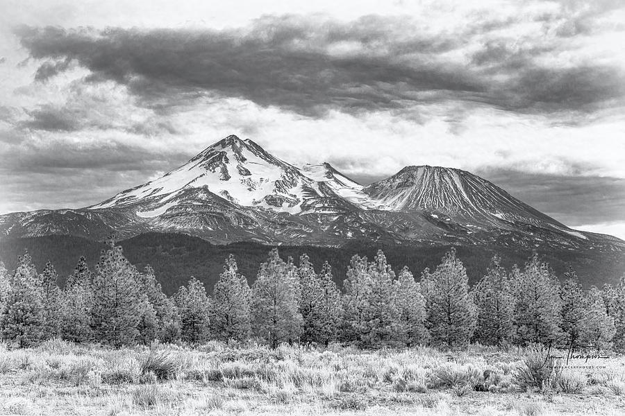 California Photograph - Mount Shasta 3 by Jim Thompson