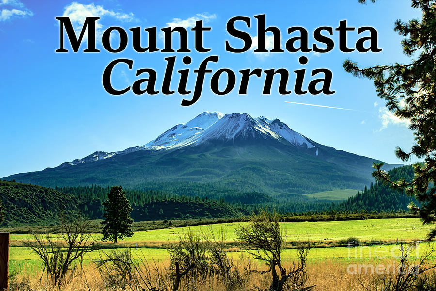Mount Shasta Photograph - Mount Shasta California by G Matthew Laughton