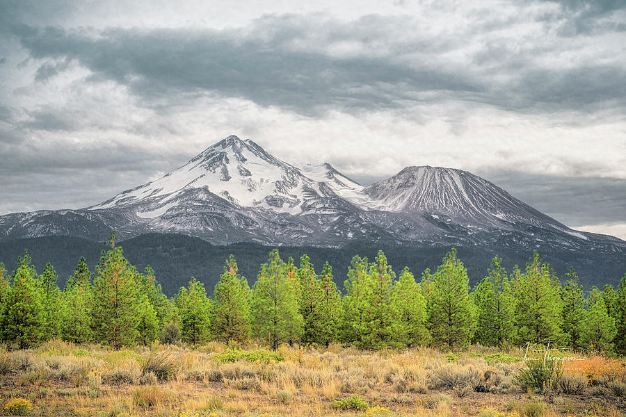 California Photograph - Mount Shasta by Jim Thompson