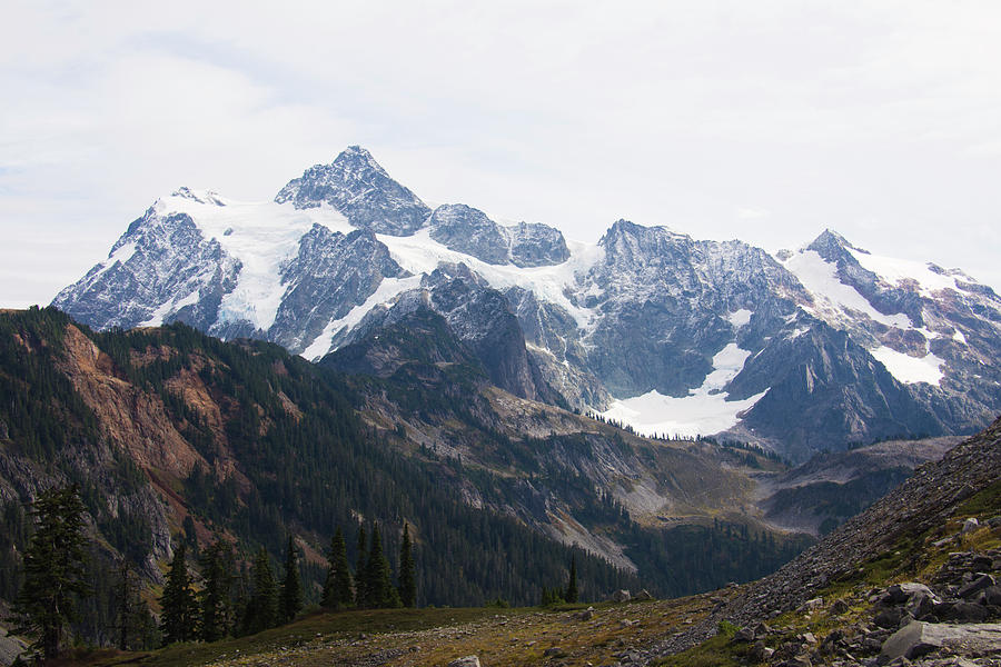 Mount Shuksan North Cascades by Yulia Kazansky
