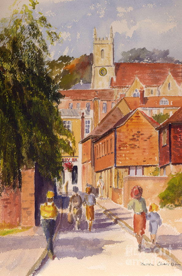 Mount Street, Hythe, Kent by Beatrice Cloake