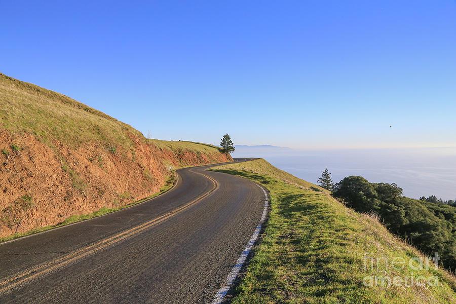 Marin County Photograph - Mount Tamalpais by Eddie Hernandez