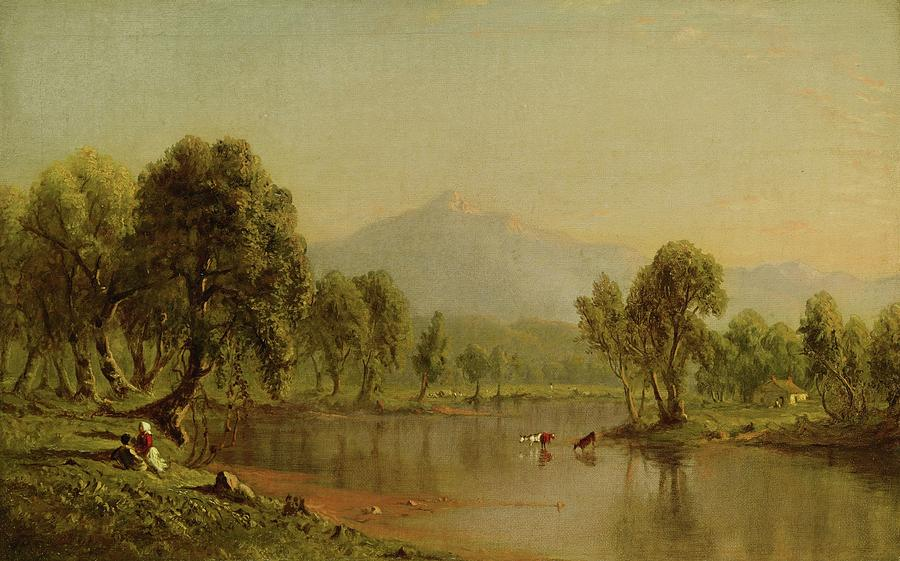New Hampshire Painting - Mount Washington by MotionAge Designs