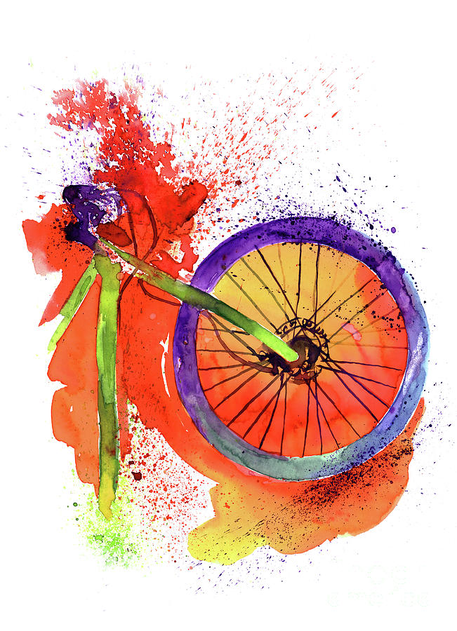 Mountain Bike Digital Art by Serkan6