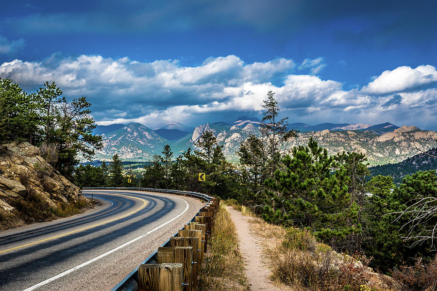 Mountain Curve by James L Bartlett
