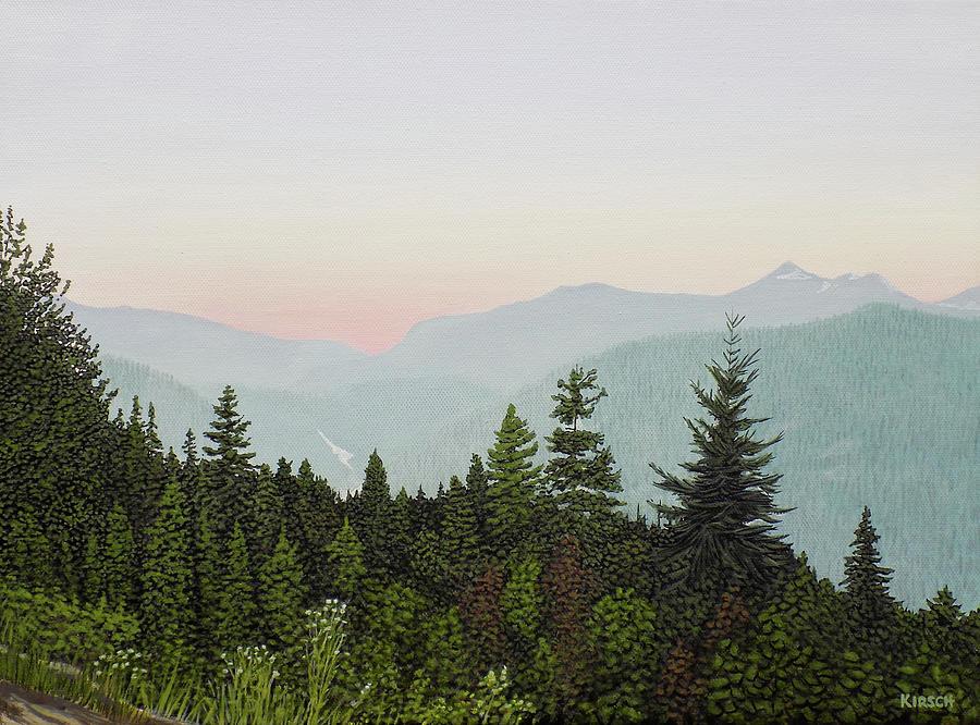 Mountain Dusk by Kenneth M Kirsch