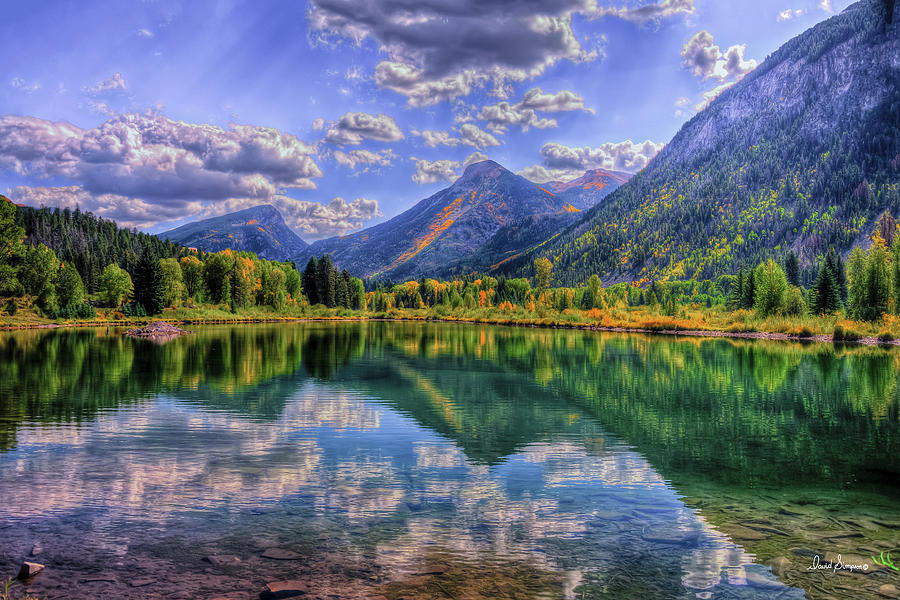 Mountain High Photograph