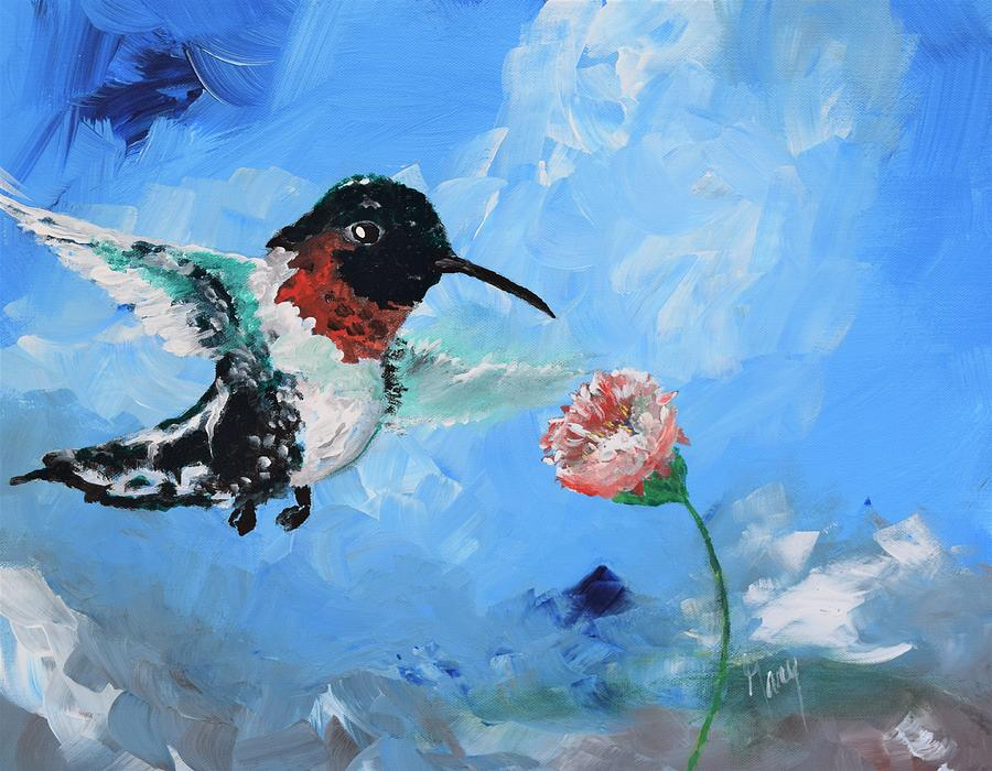 Mountain Hummingbird by Gary Smith