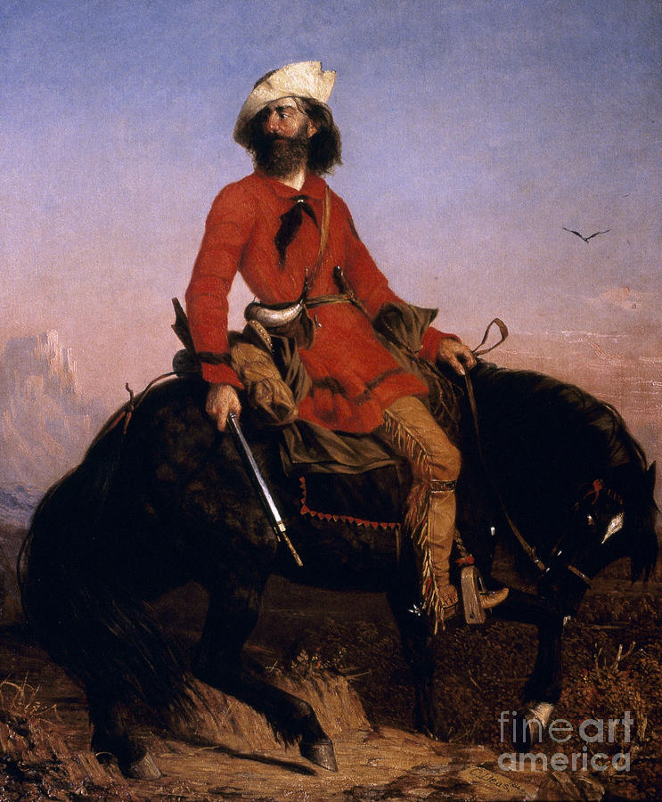 Mountain Man, 1844 by Charles Deas