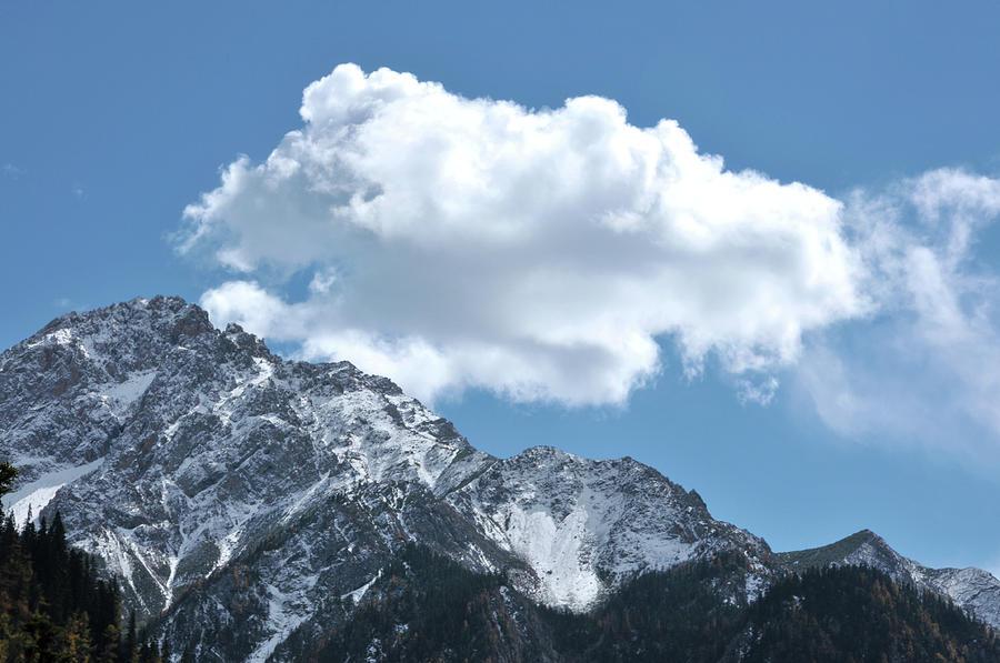 Mountain Peak Photograph by Caoyu36