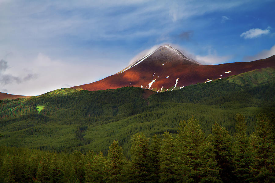 Mountain Peak - Jasper National Park Photograph by Adria Photography