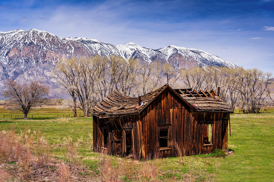 Mountain Shack Photograph By Michael Blanchette Photography