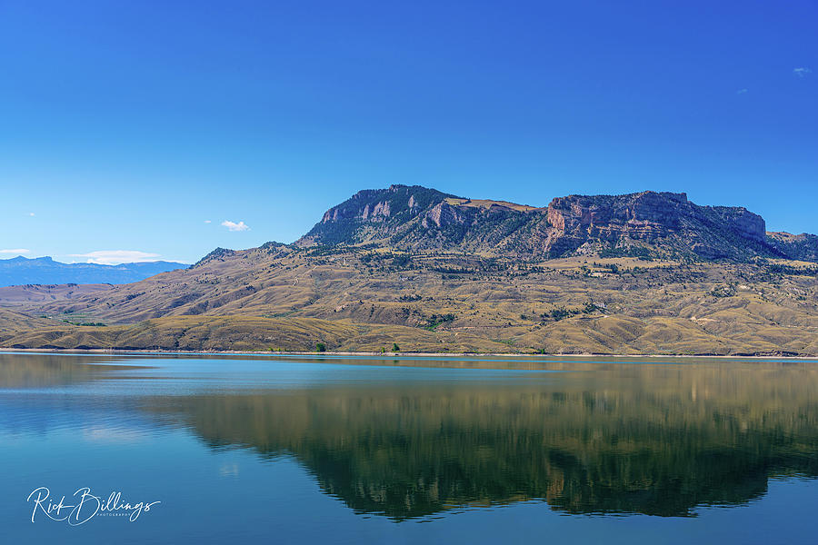 Mountain Side Lake No 1086 by Rick Billings