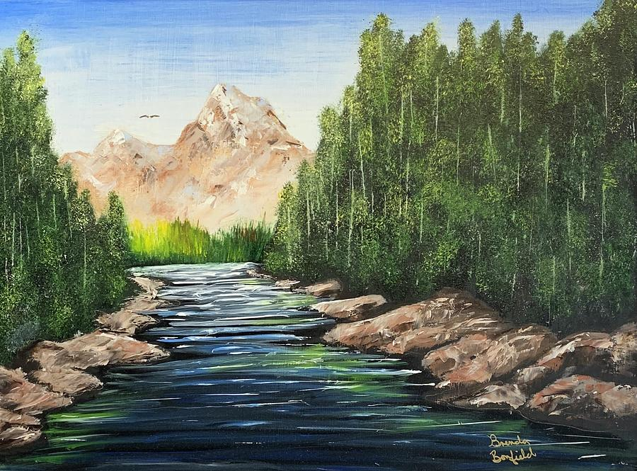 Mountain Stream by Brenda Bonfield