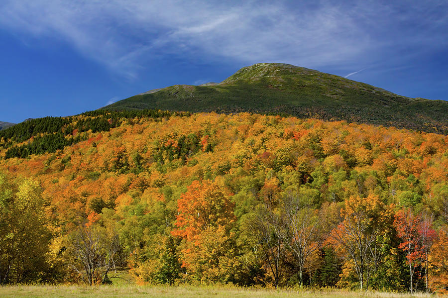Mountain Summit in Fall Colors by Jeff Folger