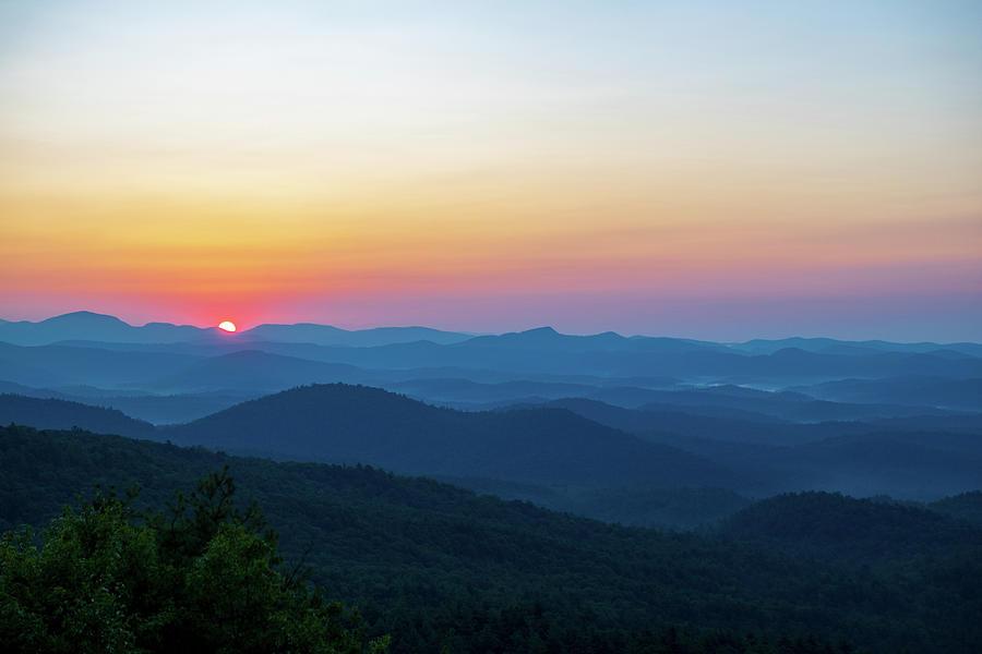 Mountain Sunrise Photograph