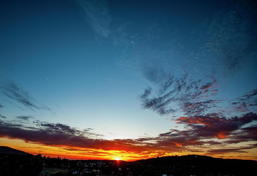 Mountain Sunset by Anthony Jones