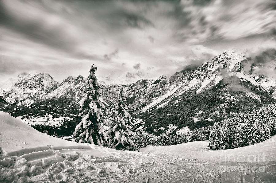 Mountain Photograph - Mountain Tales by Alessandro Giorgi Art Photography