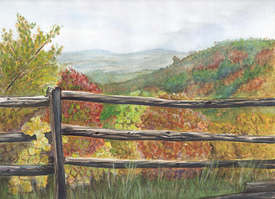 Mountain View by Dorothy Riley