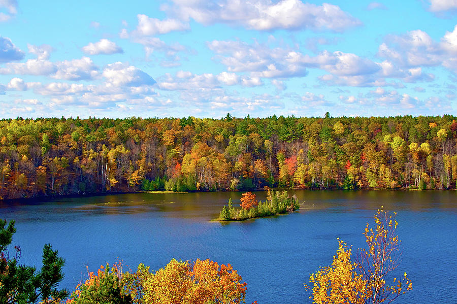 Mountain View Of Huron-manistee  Forest Photograph by William Goldsmith