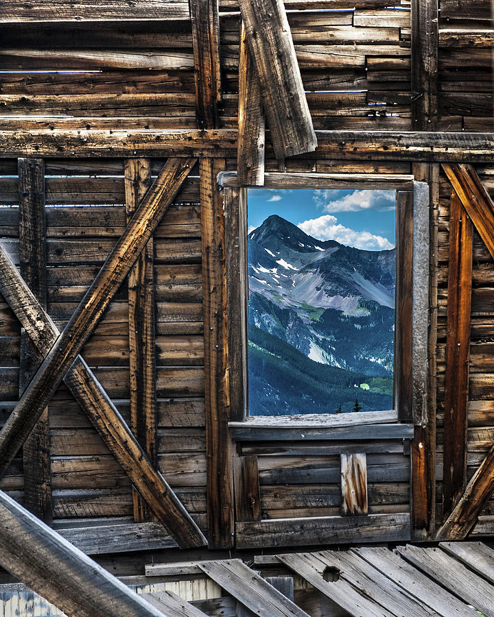 Mountain View X by George Buxbaum