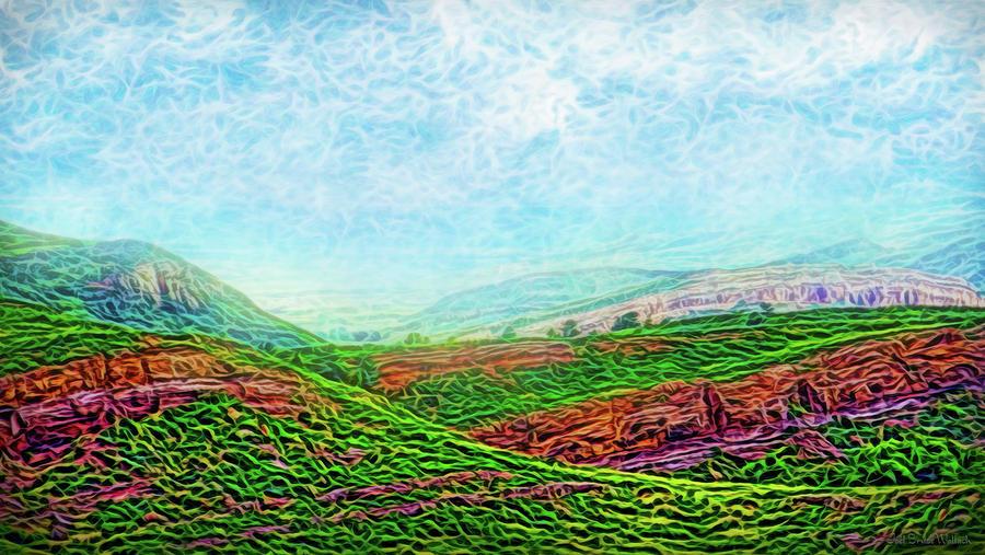 Mountain Wave Flow by Joel Bruce Wallach