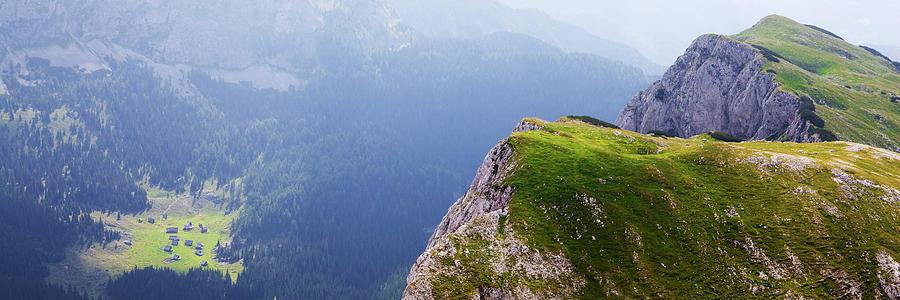 Mountains Above Remote Village Photograph by Joste dj