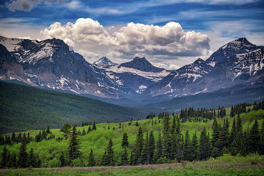 Mountains' Majesty by Rick Berk